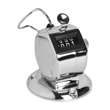 Hand counter w/4 digites and mountingplate 20119150