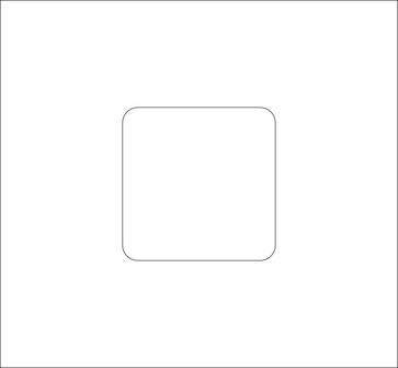 Lågudsnit 1 hul perlegrå, 1E/BR 130 PG 1E/BR 1307035