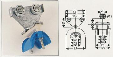 Normaf kabelvogn for fladkabel, N1702350 N1702350