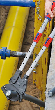 Kabelsaks (Skraldeprincip) med teleskopskaft med flerkomponent-håndtag 630 mm 95 32 060