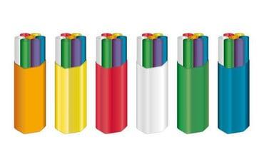 ABF microrør 7x14/10 mm S12 orange Tr.500m MPB30277/7M-2