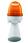 Horn med lys 240V AC BA15D 10W Orange, 314.4.240 40422 miniature
