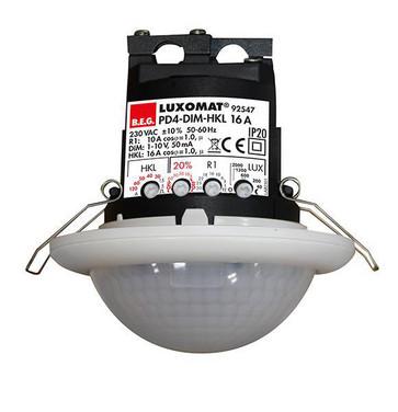 Tilstedeværelsessensor PD4-M-DIM-HKL-16A-i Indbygning 92547