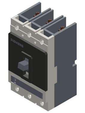 Afbryder VL150 UL Type DG (CAT NO. NDK3B050) fast Ramme, Afbryder godkendt ifølge UL 489 3VL2505-1KN30-0AA0