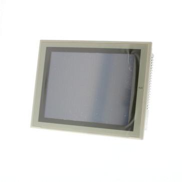 Touch screen HMI, 12,1 tommer, TFT, 256 farver (32.768 farver til .BMP/.JPG), 800x600 pixels, 2xRS-232C-porte, Ethernet (10/100 Base-T), 24VDC, 60MByte hukommelse, 24VDC , beige tilfælde NS12-TS01-V2 204267