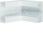 Indvendig hjørne plast for BR65170 RAL 9016 BR6517049016 miniature