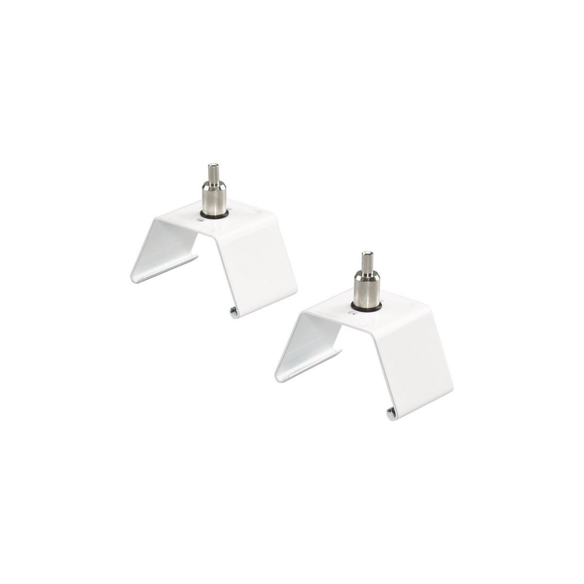 Pakke med 2 stk monteringsbeslag til wire LL120Z MB-SW Hvid