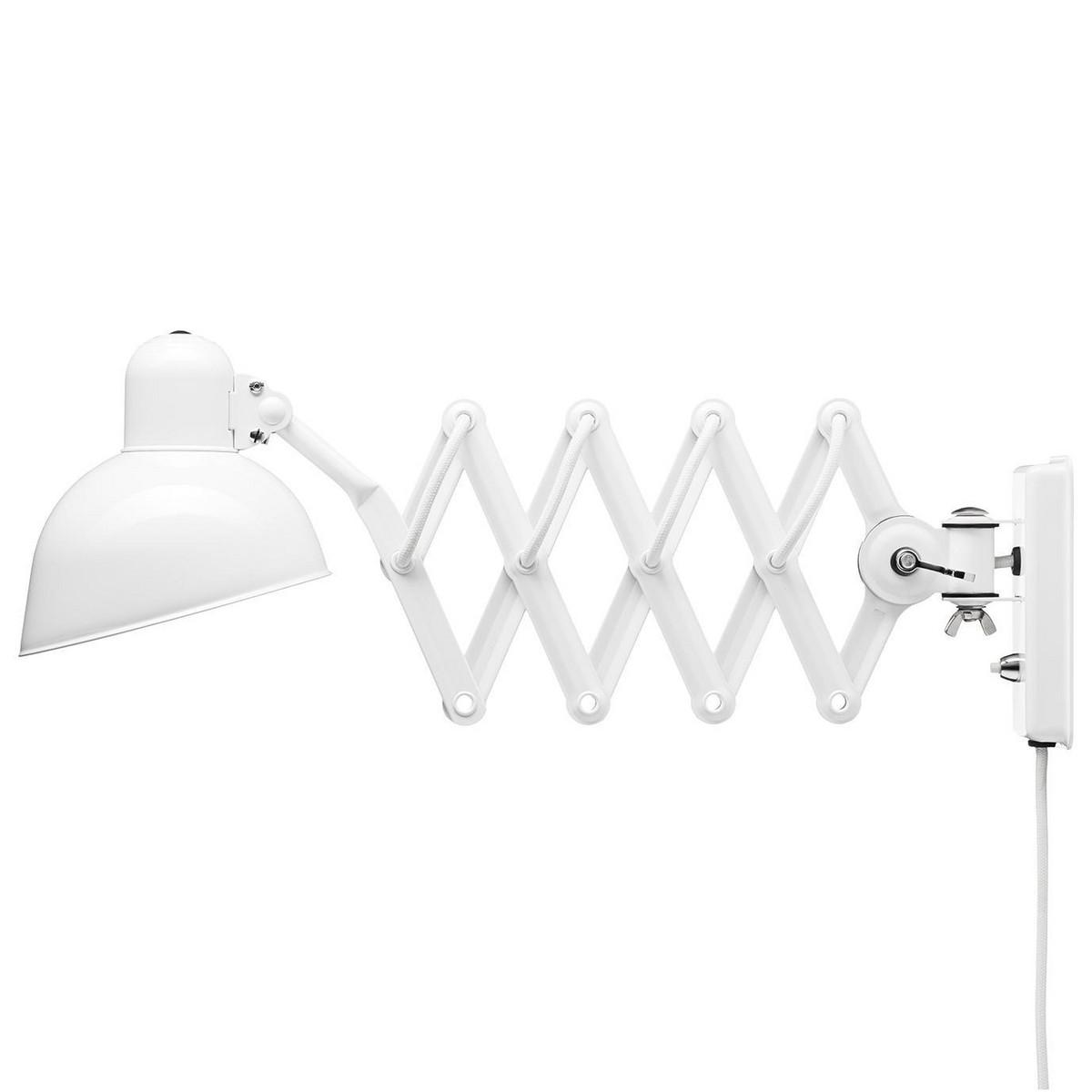 Kaiser idell 6718-W Hvid Væglampe