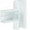 T-stykke plast for BR65100 RAL 9016 BR6510089016 miniature