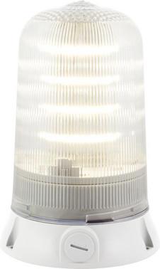 Roterende lampe med LED og multifunktion 240V Klar, 200R, LED, 240 90086