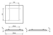 Philips CoreLine Påbyg Interact Ready SM134V LED 3700lm/830 60x60 NOC/UGR>19