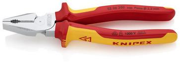 Knipex kombinationstang kraft 200 mm, 02 06 200 02 06 200
