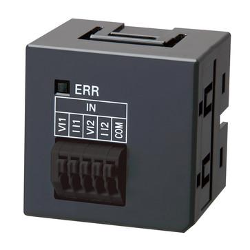Sysmac NX1PAnalog I/O skrueløse optionskort, 2xanaloge indgange 0 til 10 V, opløsning 1/4000 eller 0 til 20mA, opløsning 1: 2000 NX1W-ADB21 672499