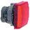 Harmony signallampehoved i plast for LED med firkantet linse i rød farve ZB5CV043 miniature