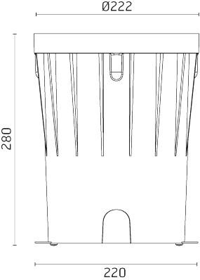 Installationsboks for Naboo 225