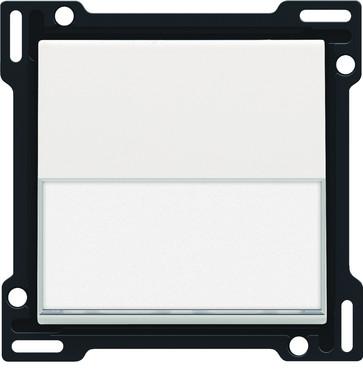 Tangent, enkelt, med tekstfelt, white coated 154-60905