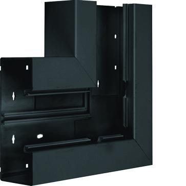 Fladvinkel plast for BR65170 RAL 9011 BR6517059011
