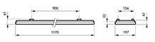Philips CoreLine Påbyg Interact Ready SM134V LED 3700lm/840 20x120 OC/UGR<19