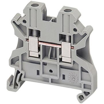 Gennemgangsklemme 4mm², grå NSYTRV42