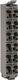 TM5 anslutningsplint 12 pin 24vdc, grå 7586034399