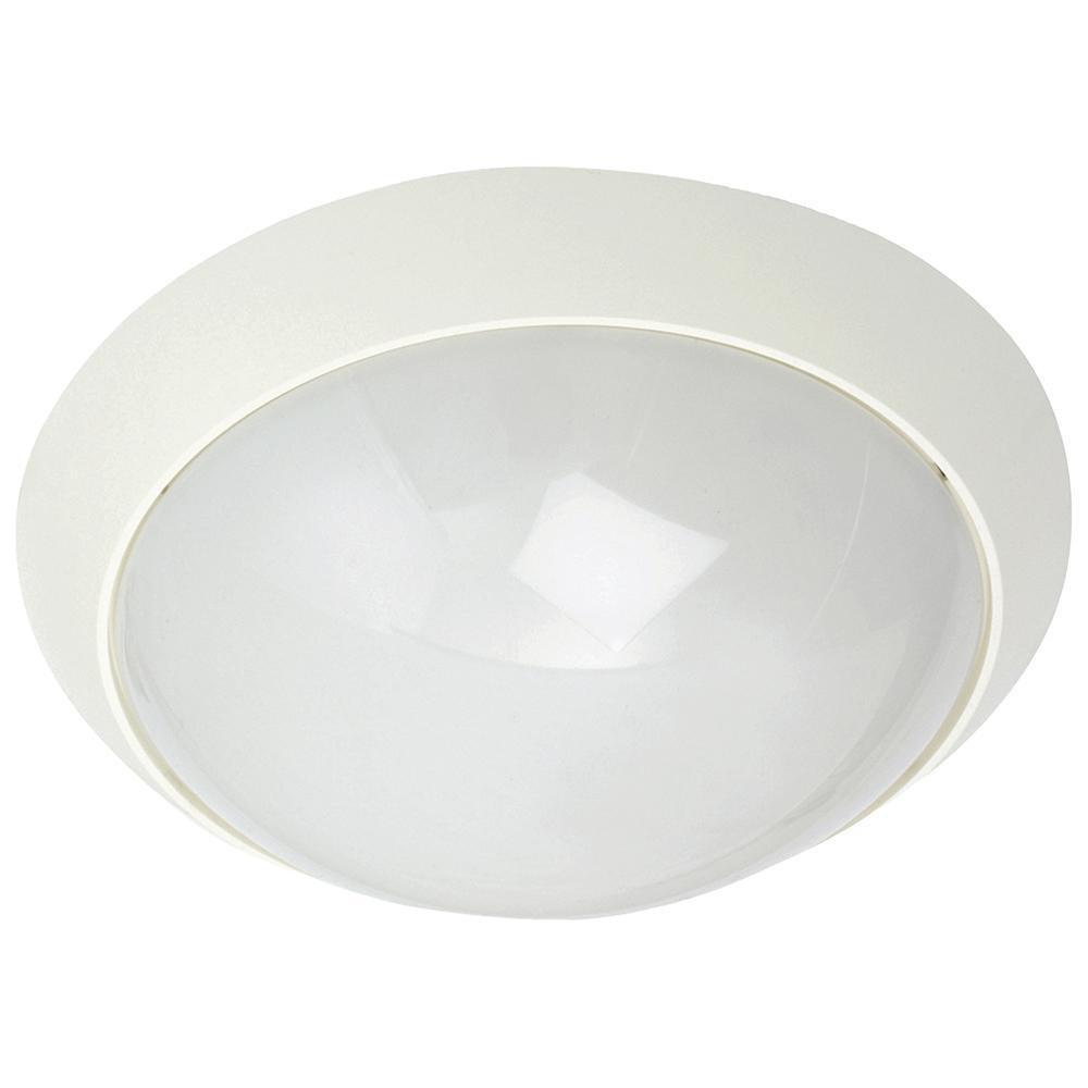 Enøk Mat-Hvid 10W LED E27 2700K Sensor