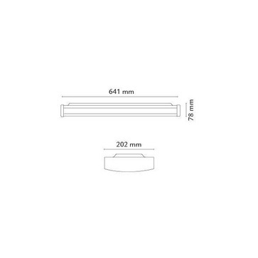 Chello Mat-Hvid 2x10W LED 3000K 111208