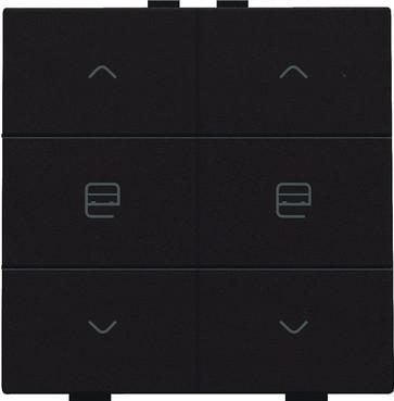Motortryk dobbelt, dark brown, NHC 124-51036