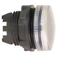 Harmony signallampehoved i plast for BA9s med linse i hvid farve ZB5AV01