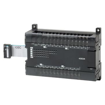 I/O-udvidelse unit, 24x24VDC input, 16xrelæudgange 2A CP1W-40EDR 670909