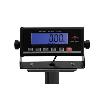 Gulvvægt 150 kg / inddeling 20 g med LCD display og 550x420 mm vejeplade 18562470