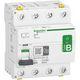 Acti9 PFI-afbryder RCCB-ID, 4P, 40A 300mA, 415V AC/DC, klasse B, med enkelt terminal, 72 mm 3322097167