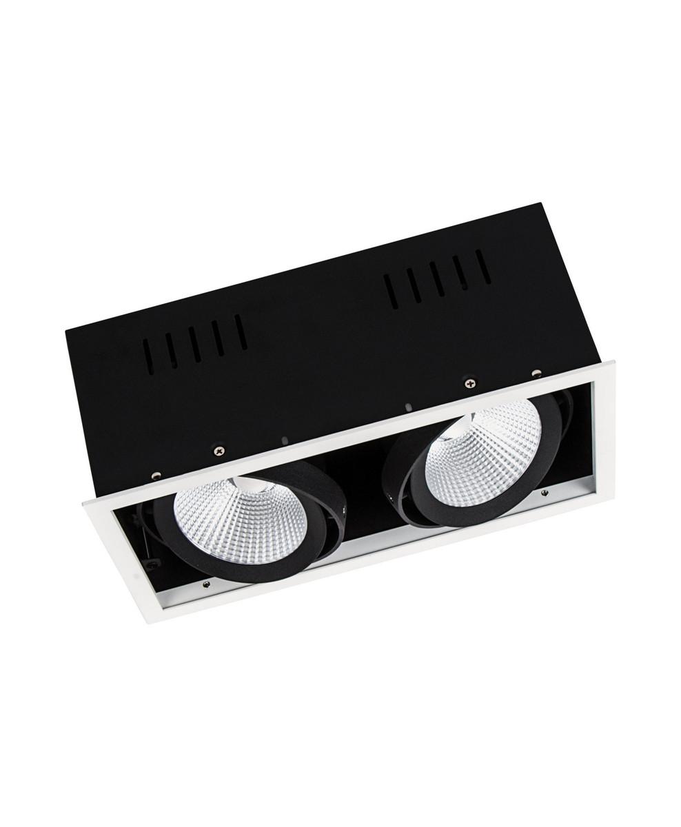 LEDVANCE Spot Multi 2 x 30W/3000K UGR16 hvid 38°