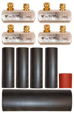 Skruemuffekit, komplet 70-150mm² 7321-007300