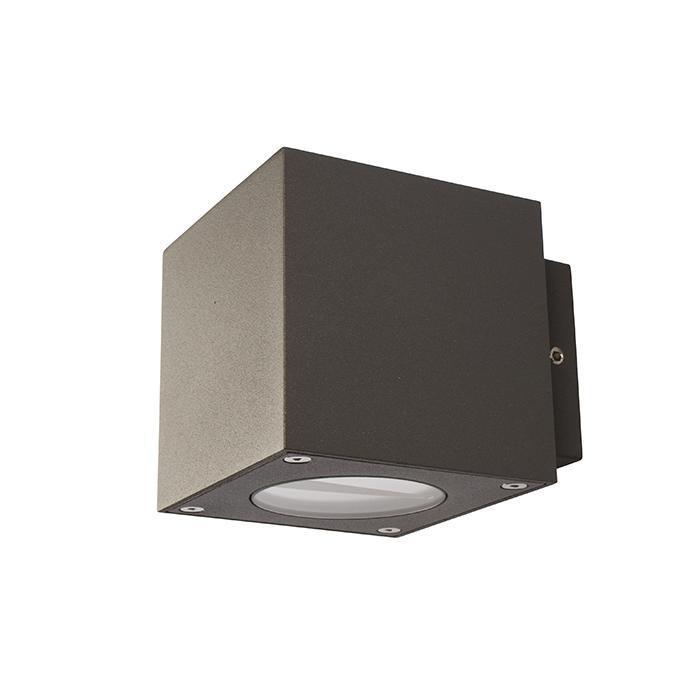 Esta 230V 2x3W 3000K IP54 Antracitgrå.