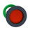 Harmony flush trykknapshoved i plast med fjeder-retur og undersænket trykflade i rød farve ZB5FA46 miniature