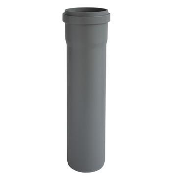 Ht-Pp (Amax Pro) Ø50 mm X 500 mm grå afløbsrør PRO-050-018-050-GD