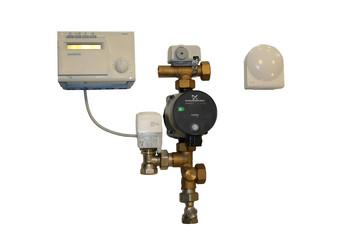 Pettinaroli shunt med vejrkompenseringsanlæg til regulering af gulvvarme op til 320m2 7021-W