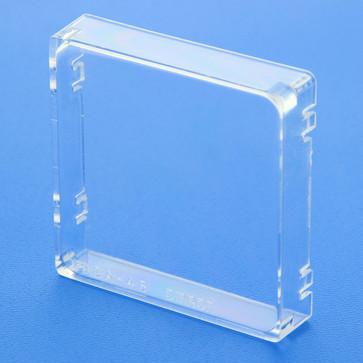Beskyttende dækning for DIN48x48mm enhed, hård plast (lavvandet) Y92A-48 120050