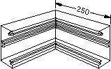 Indv  hjørne BR 70130 PH L8771PERL