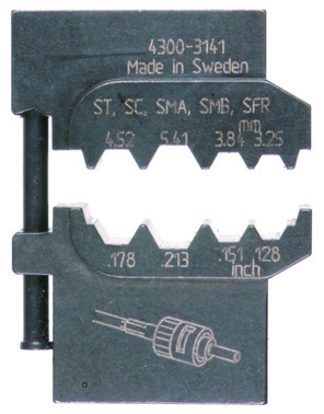 MOBILE-bakker OFO5432 ABIKO f/ fiberoptiske kontakter 4301-314100