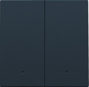 Tangent til smart 2-tryk med linse, anthracite 122-32004