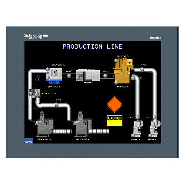 12.1 color touch panel SVGA stainless HMIGTO6315
