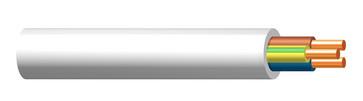 Installationskabel 3G1,5 EXQ XTRA Dca hvid QADDY 500 172576002Q0500