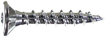 WOODSCREW 3,5 X 20 DFH ZINC PLATED 136106