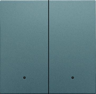 Tangent til smart 2-tryk med linse, steel grey coated 220-32004