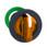Harmony flush drejegreb i plast for LED med 3 faste positioner i orange farve ZB5FK1353 miniature