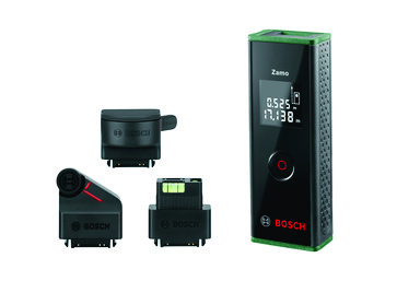 Green Bosch Zamo laser measure ZAMO III PREMIUM 0603672701