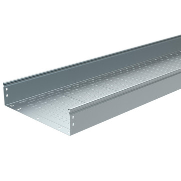 P31 MFS kabelbakke uperforeret 100x400 varmgalvaniseret 3 meter 482092