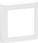 LK FUGA SOFT designramme 1 modul, hvid 560D6010 miniature