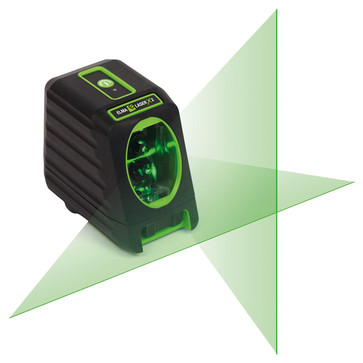 Elma Laser x2, green cross laser for increased visibility 5706445677009